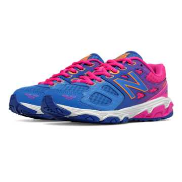 New Balance New Balance 680v3, Blue with Pink Zing