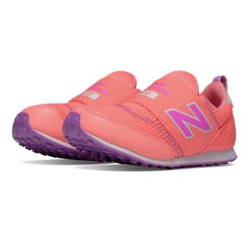 New Balance 620 Hook and Loop, Pink with Purple