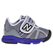New Balance 102, Grey with Blue