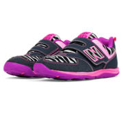 New Balance New Balance 111, Black with Bubble Gum Pink & White