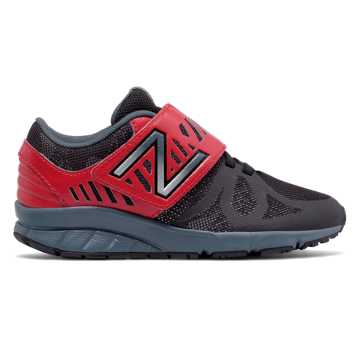 New Balance Hook and Loop 200, Black with Red