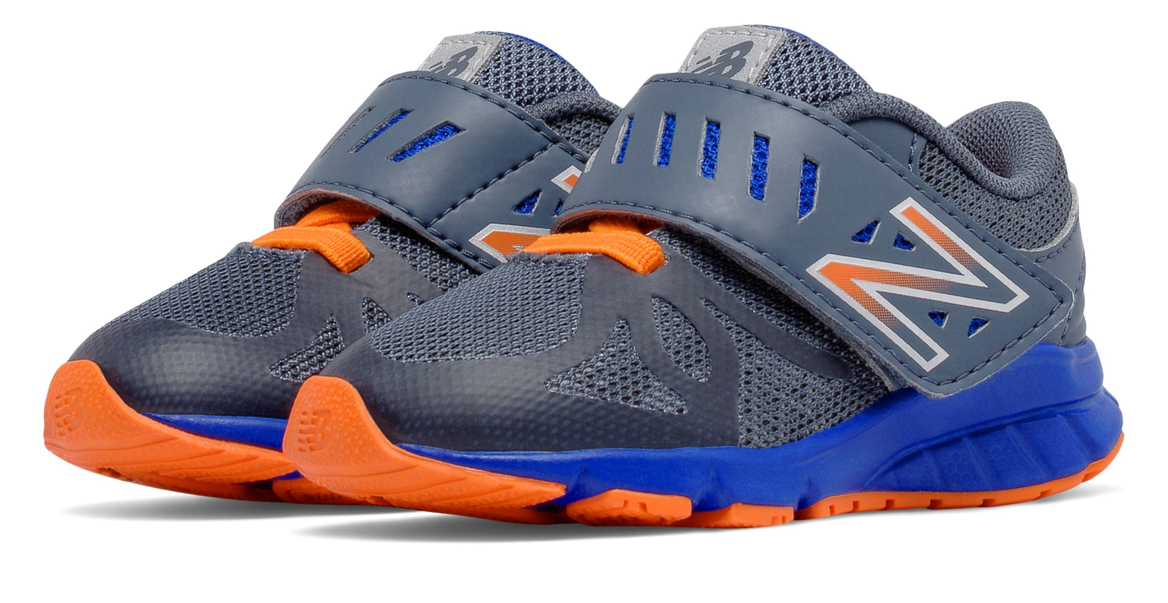 New Balance Hook And Loop 200 Infant Girls Shoes Grey