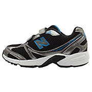 New Balance 328, Black with Silver & Blue Atoll