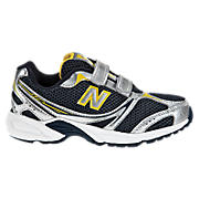 New Balance 328, Navy with Yellow & Silver