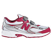 New Balance 380, White with Virtual Pink & Silver