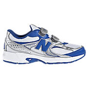 New Balance 380, White with Blue & Silver