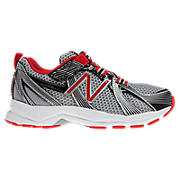 New Balance 554, Grey with Red