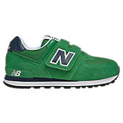 New Balance 574, Green with Navy