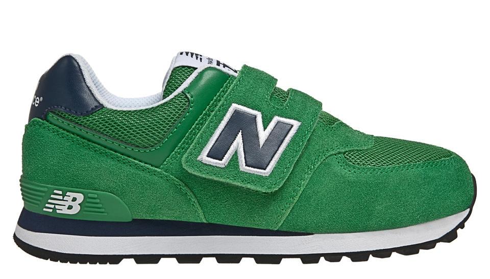 new balance 574 verdi e blu