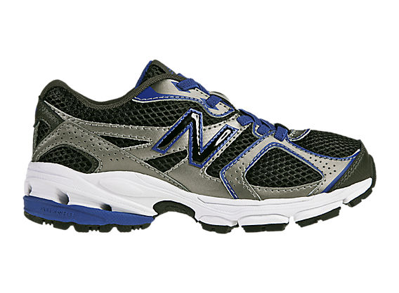 New Balance 633, Black with Blue & Silver