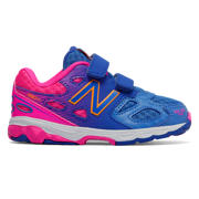 NB New Balance 680v3, Blue with Pink