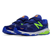New Balance 680v3, Blue with Green