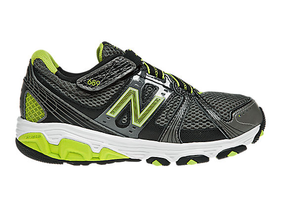 New Balance 689, Black with Green & Silver