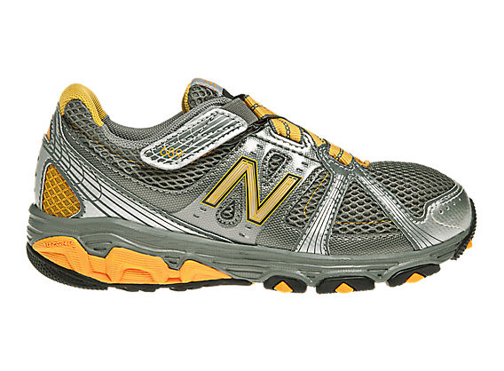 New Balance 689, Grey with Orange & Silver