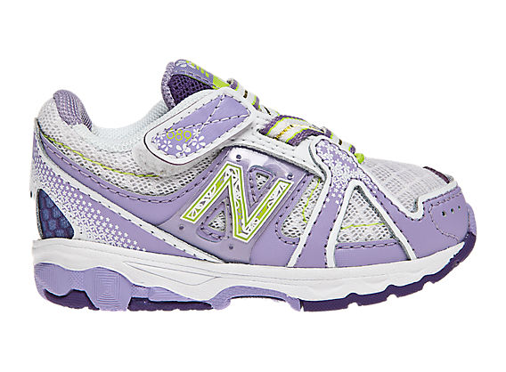 New Balance 689, Silver with Baja Blue & Fluorescent Lime