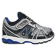 New Balance 689, Silver with Blue & Black
