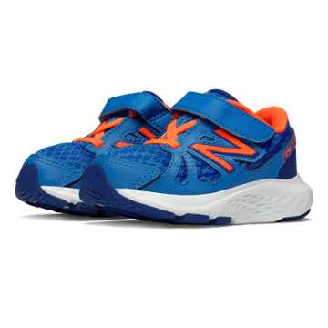 New Balance Hook and Loop 690v4, Blue with Orange