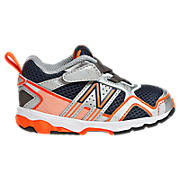 New Balance 695, Black with Orange & Silver