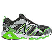 New Balance 695, Silver with Neon Green & Dark Grey