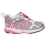 New Balance 695, Silver with Pink & Pink Glo