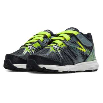 New Balance New Balance 697, Hi-Lite with Dark Grey & Silver