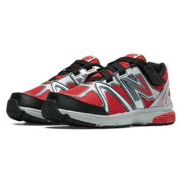 New Balance New Balance 697, Red with Black & Silver