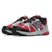 New Balance 697, Red with Black & Silver
