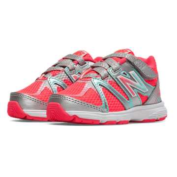 New Balance New Balance 697, Silver with Coral Pink