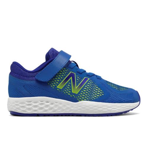 Hook and Loop 720v4 Kids Grade School Running Shoes - Blue/Green (KV720BGY) 190737551453