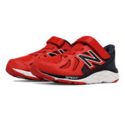 New Balance Hook and Loop 790v6, Red with Dark Grey