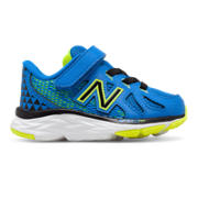 New Balance Hook and Loop 790v6, Electric Blue with Hi-Lite