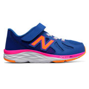 New Balance Hook and Loop 790v6, Blue with Fluorescent Pink