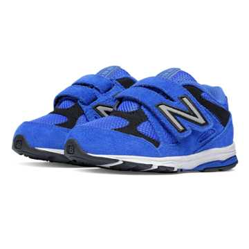 New Balance Hook and Loop 888, Blue with Black