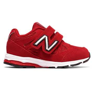 New Balance Hook and Loop 888, Red with White