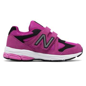New Balance Hook and Loop 888, Azalea with Black
