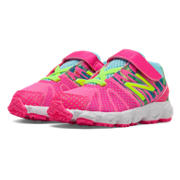 New Balance 890v5, Pink Zing with Blue Atoll & Lime