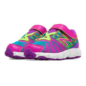New Balance New Balance 890v5, Exuberant Pink with Green Flash & Blue