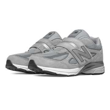New Balance Hook and Loop 990v4, Grey