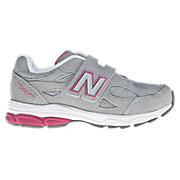 New Balance 990v3, Grey with Pink
