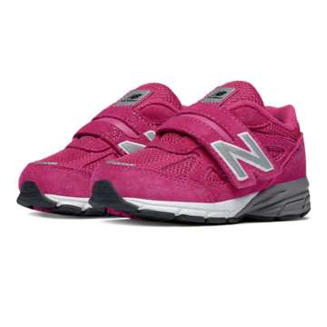 New Balance Hook and Loop 990v4, Pink