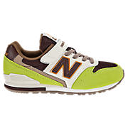 New Balance 996, Lime Green with White & Brown