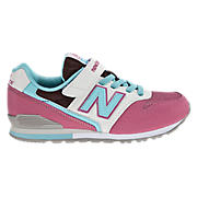 New Balance 996, Pink with Blue & Black