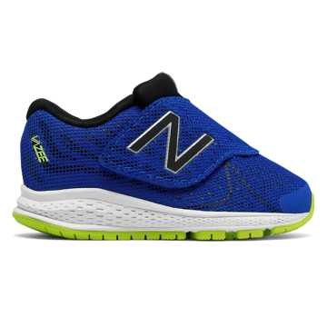 New Balance Hook and Loop Vazee Rush v2, Blue with Black