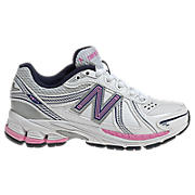 New Balance 761, White with Silver & Pink