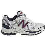 New Balance 761, White with Navy & Red
