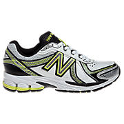 New Balance 761, White with Black & Yellow