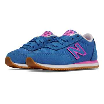 New Balance 501 Ripple Sole, Pink with Purplehaze