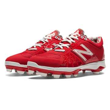 New Balance Low-Cut 2000v2 TPU Molded Cleat, Red
