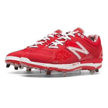 New Balance Low-Cut 3000v2 Metal Cleat, Red