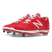 Low-Cut 3000v2 Metal Cleat, Red